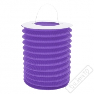 Závěsný lampion válec fialový
