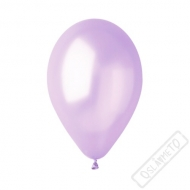 Metalický nafukovací balónek latex lila