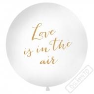 Nafukovací Jumbo balón Love is in the Air 100cm
