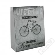 Dárková taška velká Bicykl