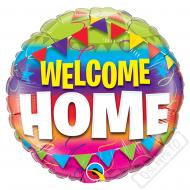 Nafukovací balónek fóliový Welcome Home 46cm