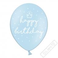 Latexový balónek Birthday Style Blue
