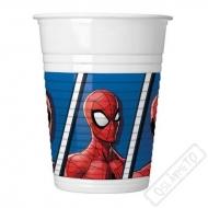 Plastové party kelímky Spiderman