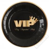 Papírové party talíře VIP