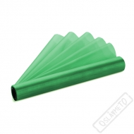 Dekorační organza tmavě zelená šíře 36cm