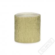 Krepový papír - serpentýny zlaté
