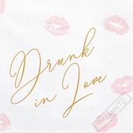Papírové party ubrousky Drunk in Love