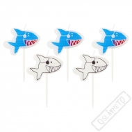 Dortové svíčky Žralok