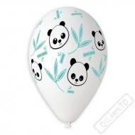 Latexové balónky s potiskem Panda Bamboo