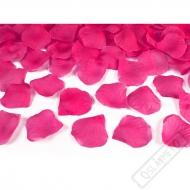 Okvětní lístky růží fuchsiové