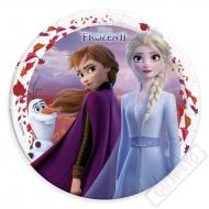 Papírové talíře Frozen - Ledové království