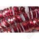 Dekorační papírové serpentýny červené