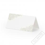 Papírové jmenovky na stůl Ornament