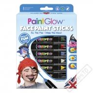 Barvy na obličej v tužce Pirate Adventure