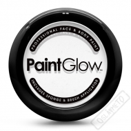 Barva na obličej Paint Glow bílá