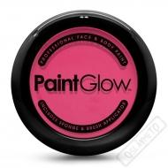 Obličejová barva s houbičkou a štětcem růžová