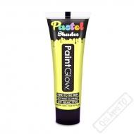 Barva na obličej a tělo Pastel UV citrónová