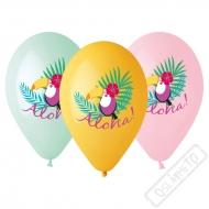 Latexové balónky s potiskem Tukan