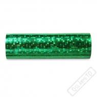 Dekorační papírové serpentýny zelené