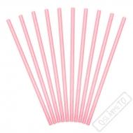 Papírová brčka Pastel Pink