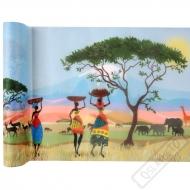 Stolová šerpa z netkané textilie Afrika