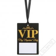 Papírové party jmenovky VIP
