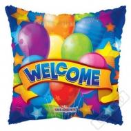 Nafukovací balónek polštářek Welcome 46cm