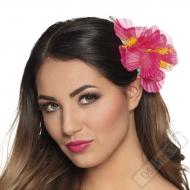 Havajská květina do vlasů Pinky