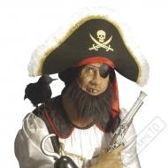 Vousy Pirátské černé