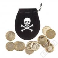 Pirátský měšec s dukáty