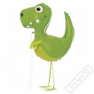 Chodící balónek Dinosaurus 94cm