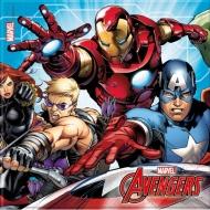 Papírové party ubrousky Avengers