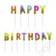 Narozeninové svíčky Happy Birthday Color