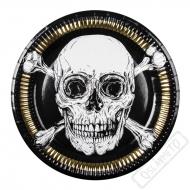 Papírové party talíře Pirát