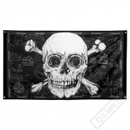 Pirátská party vlajka Jumbo