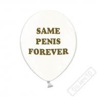 Latexové balónky s potiskem Same Penis Forever