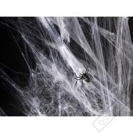 Dekorační umělá pavučina s pavouky