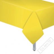 Papírový party ubrus žlutý