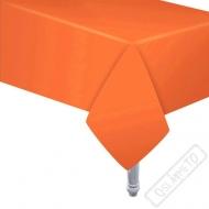 Papírový party ubrus oranžový