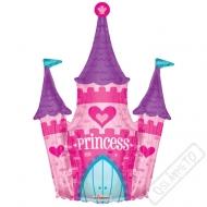 Nafukovací balón fóliový Princeznin hrad 91cm
