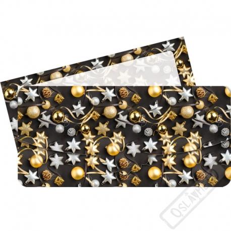 Vánoční obálka na peníze Elegance
