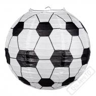 Papírový lampion kulatý Fotbal
