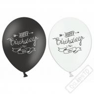Latexový balónek s potiskem Birthday Style