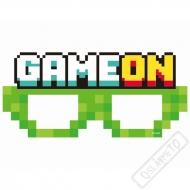 Papírové party brýle Minecraft