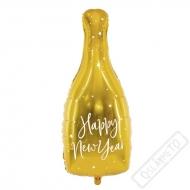 Nafukovací balón Šampus Happy New Year 82cm