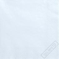 Jednobarevné papírové ubrousky azurové