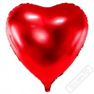 Nafukovací balón Jumbo Srdce červené 73cm