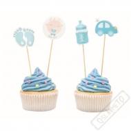 Zapichovátka do muffinů Baby modré