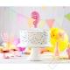 Nafukovací balónek na dort číslo 9 růžový
