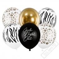 Latexové balónky s potiskem Girls Night